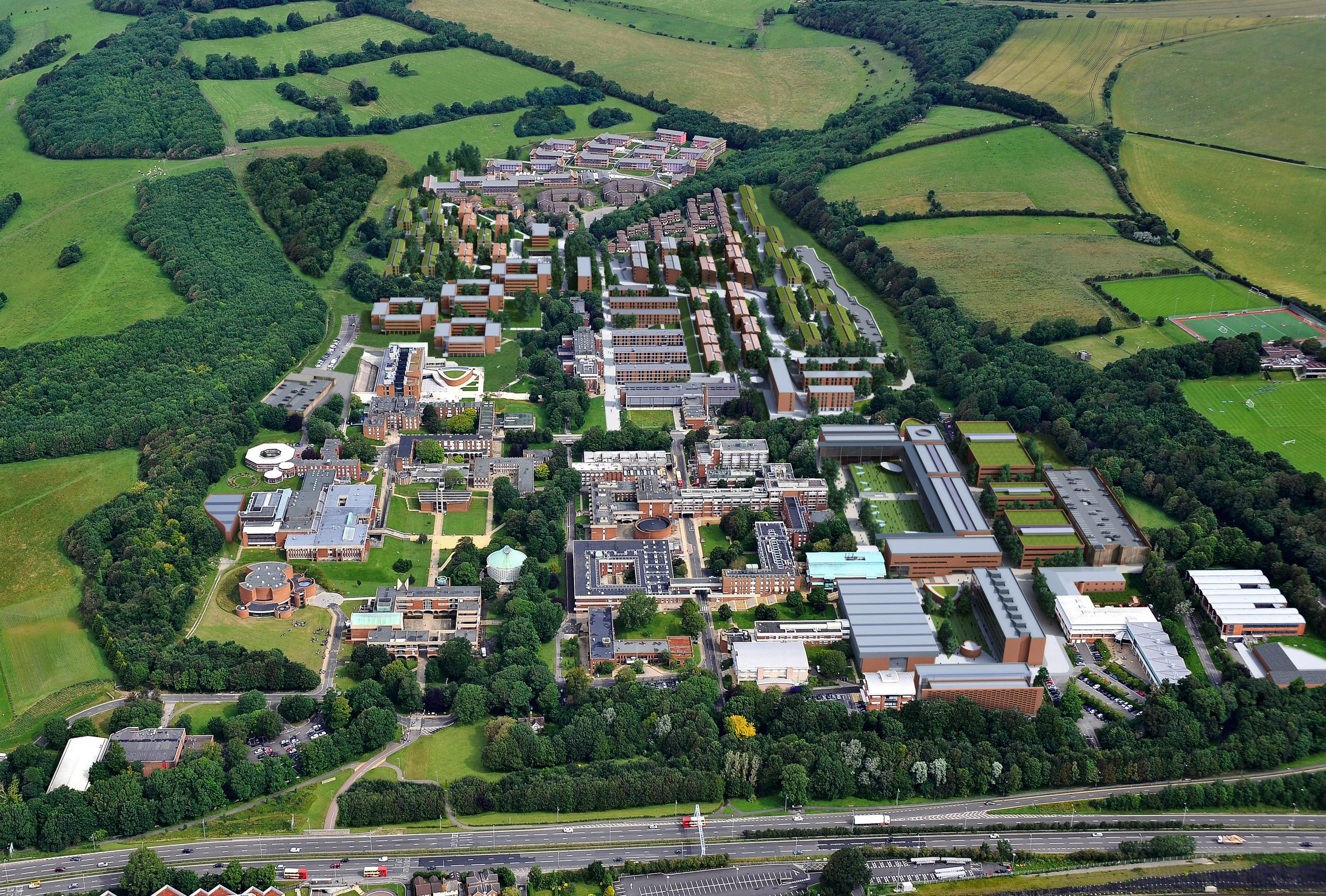 University of Sussex Campus Masterplan